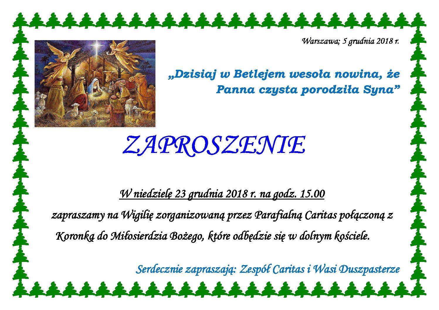 Zaproszenie Sanktuarium Matki Bożej Fatimskiej W Warszawie